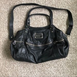 Marc Jacobs Lamb Leather Black Large Handbag